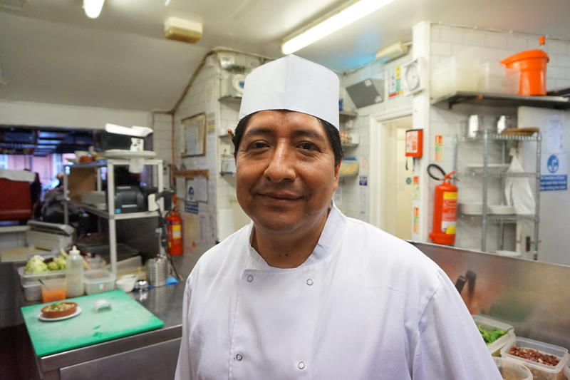 Head chef at El Pirata Mayfair