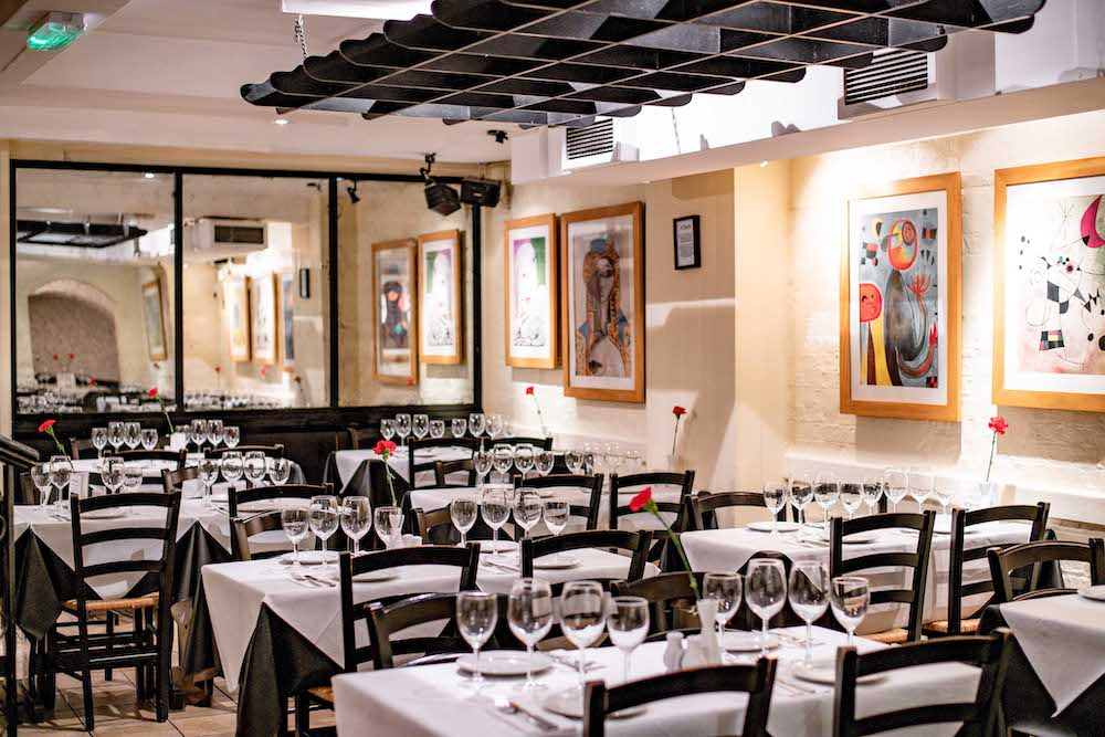 tapas bar just like spain in Mayfair authentic tapas restaurant