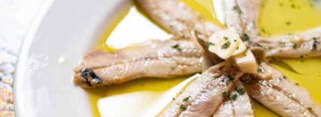 best tapas dishes Mayfair fish anchovies mouth watering