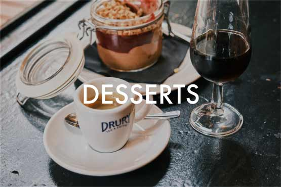 Desserts menus best tapas bar London